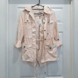 Forever 21 Pink Utility Jacket Size XS